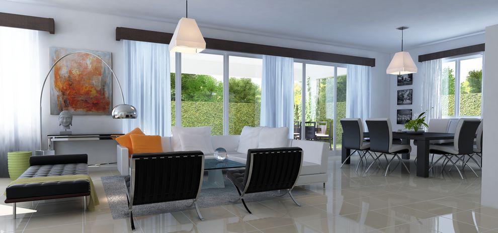 Casa en venta ic inmobiliaria mi hogar dominicano - Comedor de terraza ...